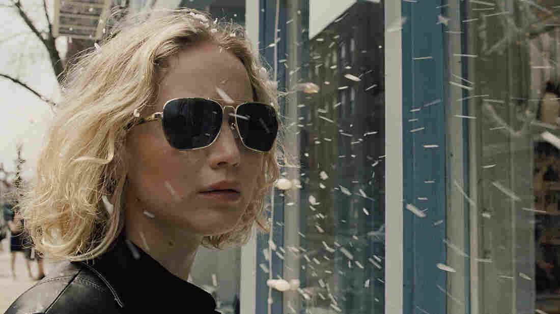 Jennifer Lawrence stars as Joy Mangano, the creator of the Miracle Mop, in the comic drama Joy.