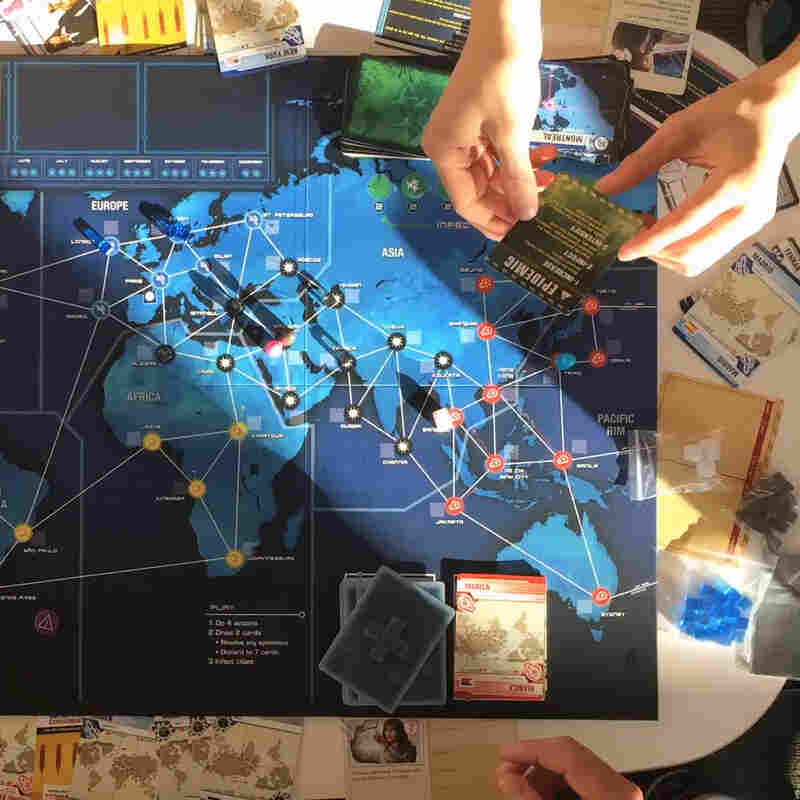 NPR played the latest version of Pandemic with four real-life epidemiologists.