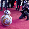 Film character BB-8 arrives at the world premiere of Star Wars: The Force Awakens at the TCL Chinese Theatre in Los Angeles on Dec.14.