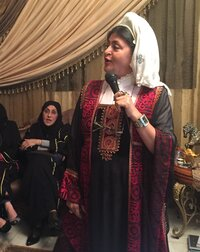 Hatoon al-Fassi, speaking at a women's forum in Riyadh a week before the election.