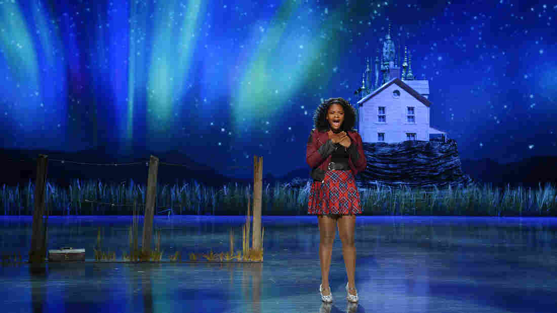 Shanice Williams' role as Dorothy was her first professional gig ever.