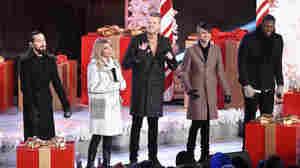 Fresh Off A Grammy Nod, Pentatonix Gets Back In The Christmas Spirit