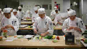 As U.S. Bids Adieu To 'Bleu,' Not All Chefs Say It's Cream Of The Crop