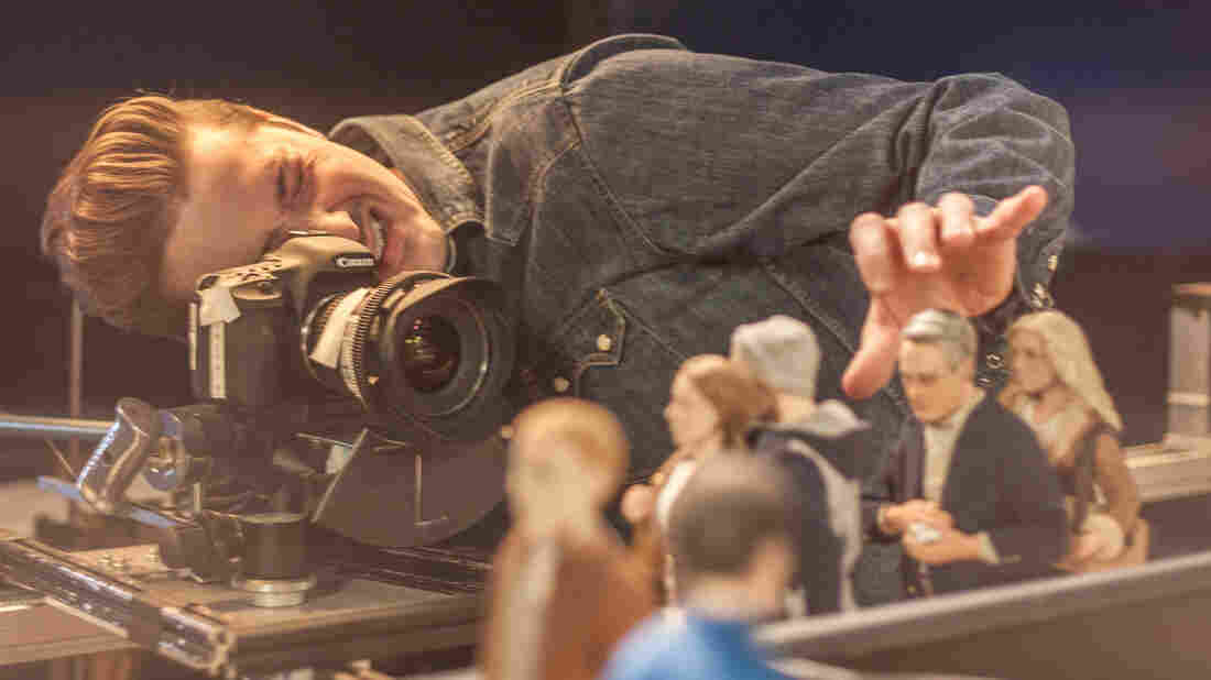 """Stop-motion animation is painstaking business. """"The process moves so slowly, it can often take weeks or months to animate a single shot,"""" says Anomalisa co-director Duke Johnson."""
