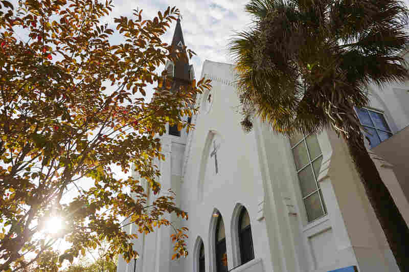 Liz Alston lives about a mile from the Emanuel African Methodist Episcopal Church in Charleston, which she's been attending for 47 years. Nine people were killed in a shooting there earlier this year.