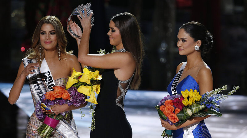 Oops: Wrong Name Announced As Winner Of Miss Universe