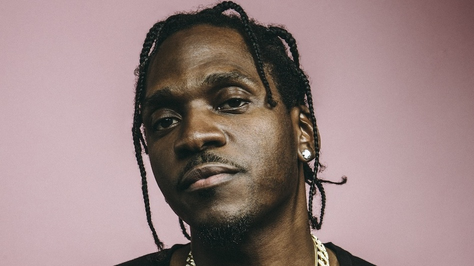 Pusha T in Los Angeles in December. (G L Askew II for NPR)