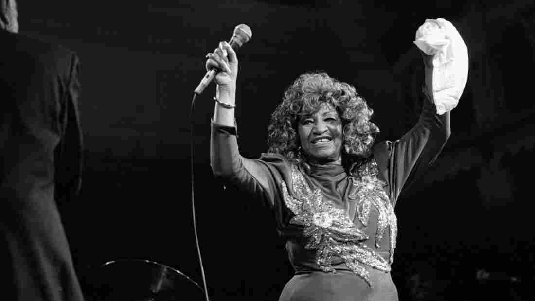 "The late Celia Cruz's version of ""Jingle Bells"" is featured on today's Latin Roots playlist."