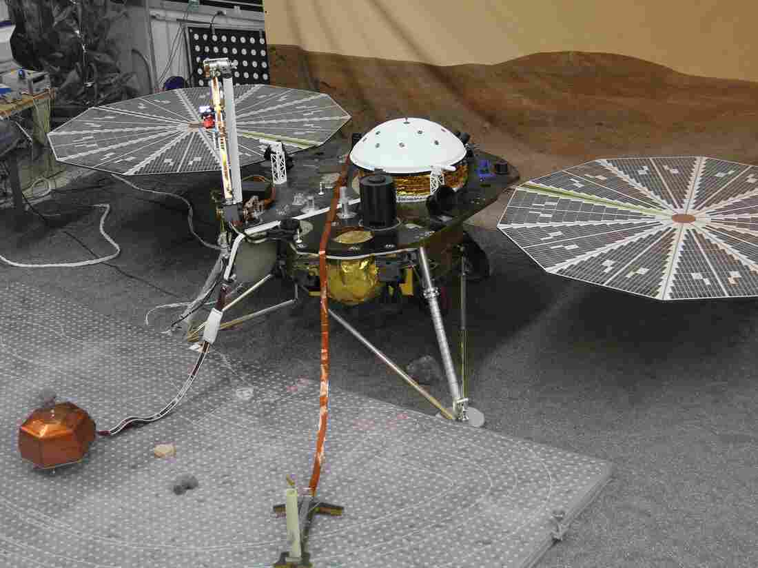 The Mars rover InSight will not launch as scheduled in March. A seismometer it was supposed to carry has experienced a series of vacuum leaks and cannot be repaired in time.