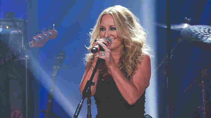 Lee Ann Womack performs at the 2015 Americana Music Awards.