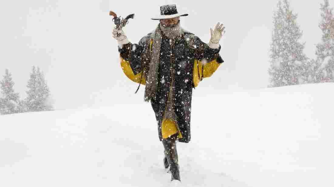 Samuel L. Jackson plays Major Marquis Warren in The Hateful Eight.