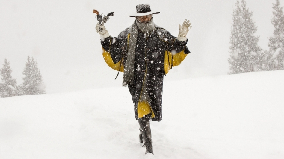 Samuel L. Jackson plays Major Marquis Warren in <em>The Hateful Eight</em>. (Andrew Cooper /Courtesy of The Weinstein Company )