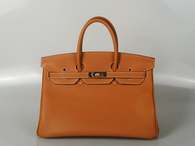A Birkin Bag From Hermes Just