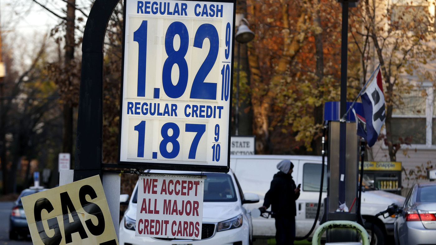 Columbus Gas Prices >> 1 22 A Gallon Cheap Gas Raises Fears Of Urban Sprawl Npr