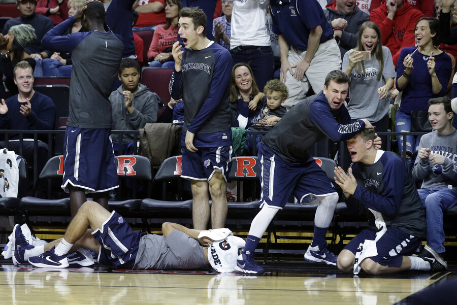 Shtick On The Sidelines: College Basketball's Most Famous Bench