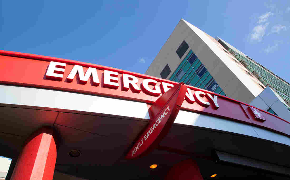 Going to an out-of-network emergency room can be costly.