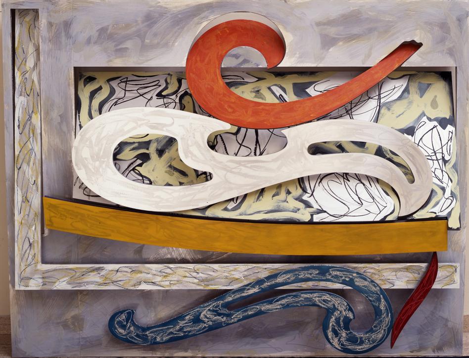 Frank Stella, <em>Eskimo Curlew</em>, 1976. (2015 Frank Stella/Artists Rights Society (ARS), New York.)