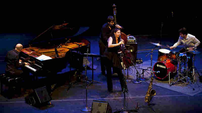 The Anat Cohen Quartet performs in Boston on New Year's Eve 2009.