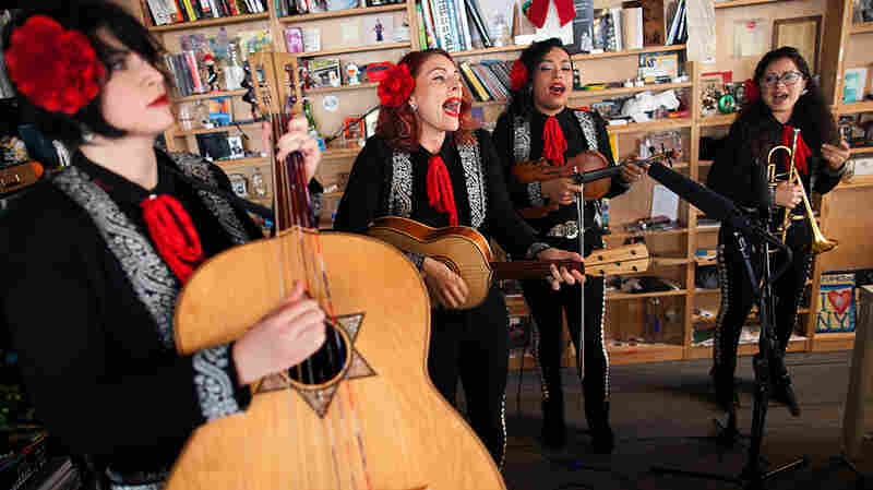 Tiny Desk Concert with Mariachi Flor De Toloache