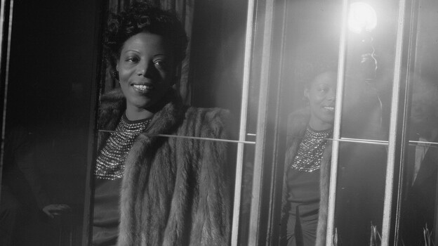 Following her conversion to Catholicism, pianist Mary Lou Williams began to compose and record religious music. (Library of Congress)