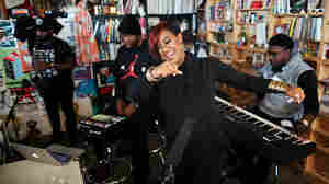 Tiny Desk Concert with Rap