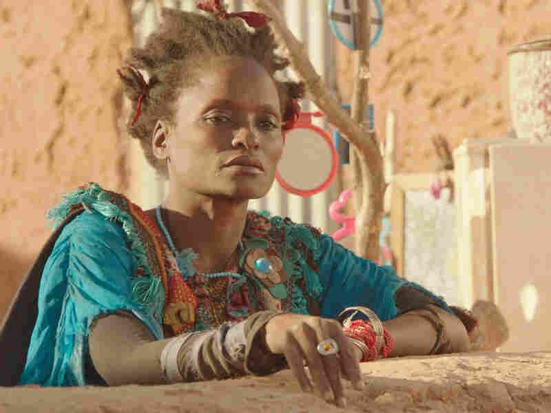 Kettly Noël plays the eccentric Zabou in Abderrahmane Sissako's Timbuktu.