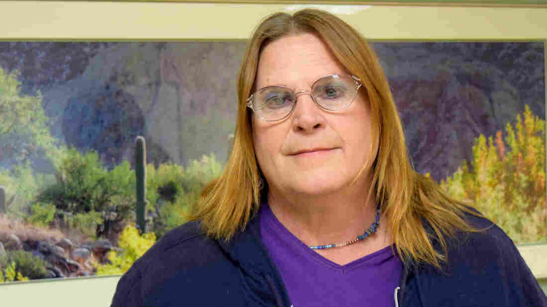 Sue McConnell is one of more than 130 transgender veterans receiving treatment at the Tucson Veterans Affairs hospital.