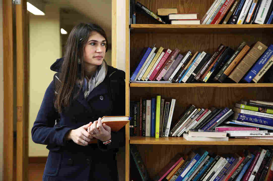 College senior Becca Arbacher has a double major at Columbia in New York City — one of the most expensive colleges in America.