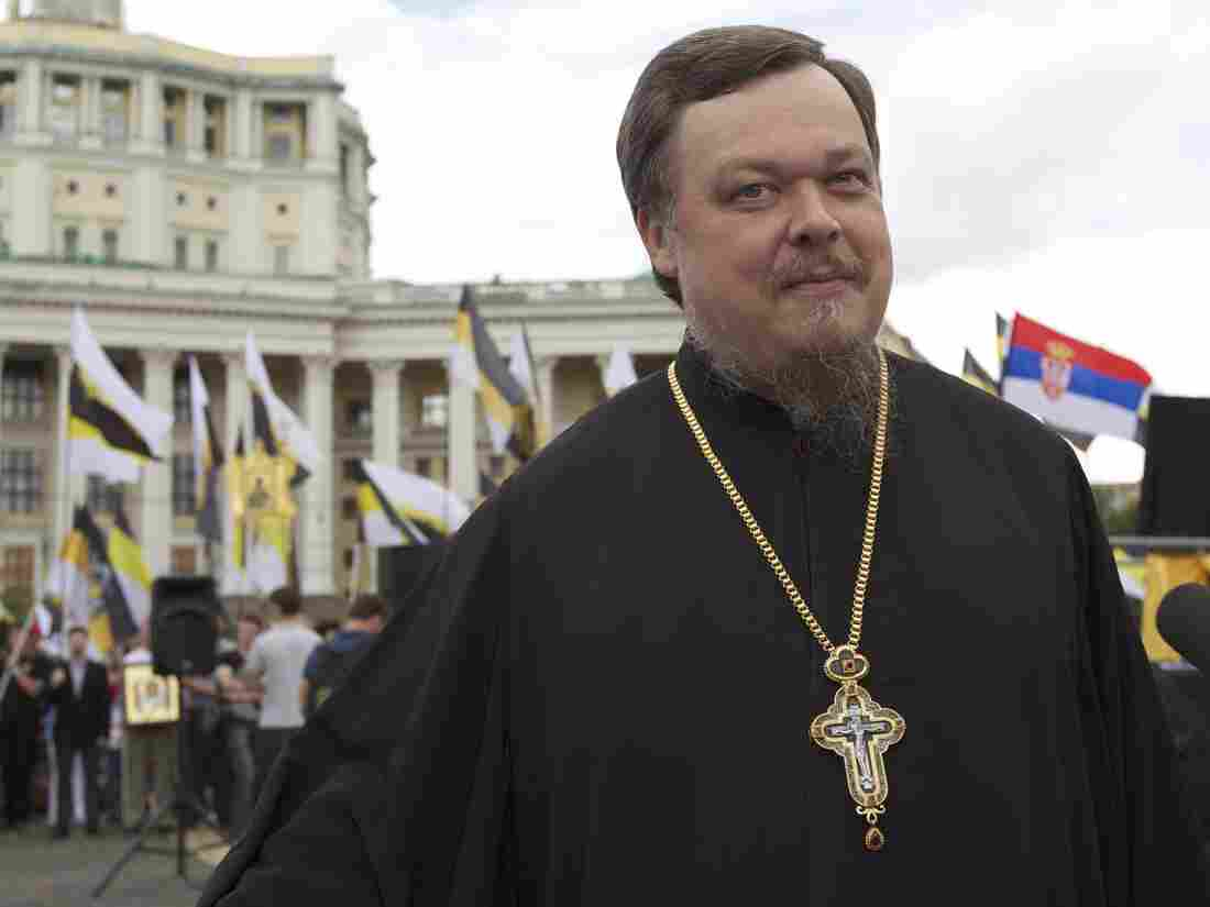 The Rev. Vsevolod Chaplin, shown here in 2012, was dismissed with little explanation. The high-ranking religious conservative was known for making controversial statements about politics and public morals.