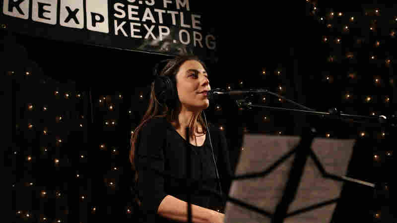 Julia Holter performs live in the KEXP studio.