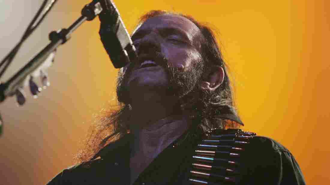 Lemmy Kilmister plays with Motörhead in Sydney, Australia, in 2007.