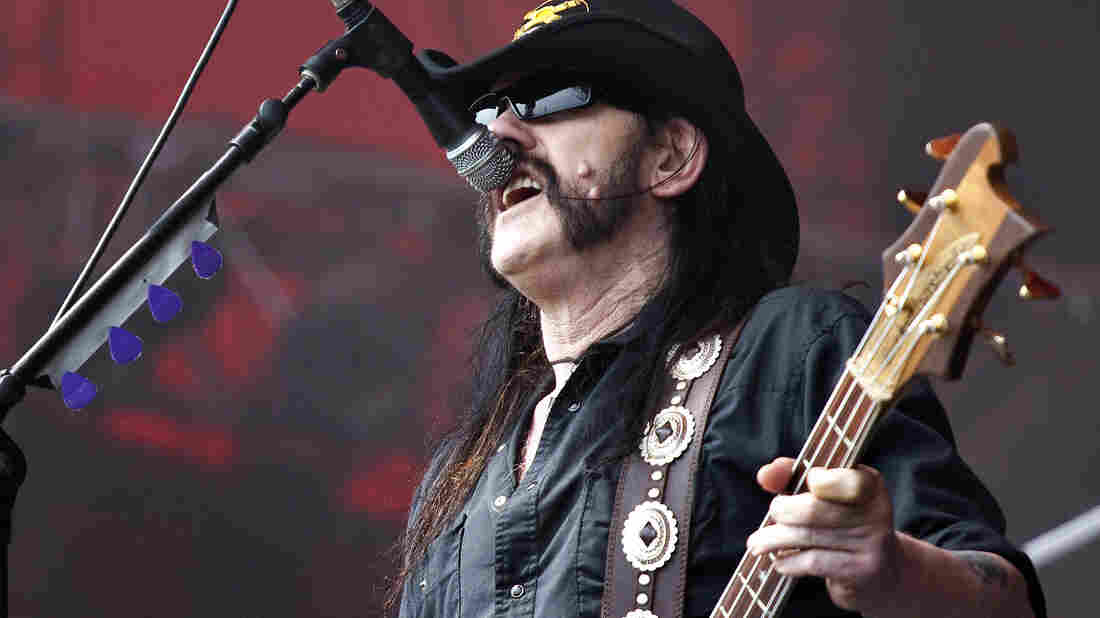 Lemmy Kilmister: Rock's thunder and lightning.