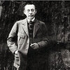 Serge Rachmaninoff, photographed in 1919, somewhere outside of San Francisco.