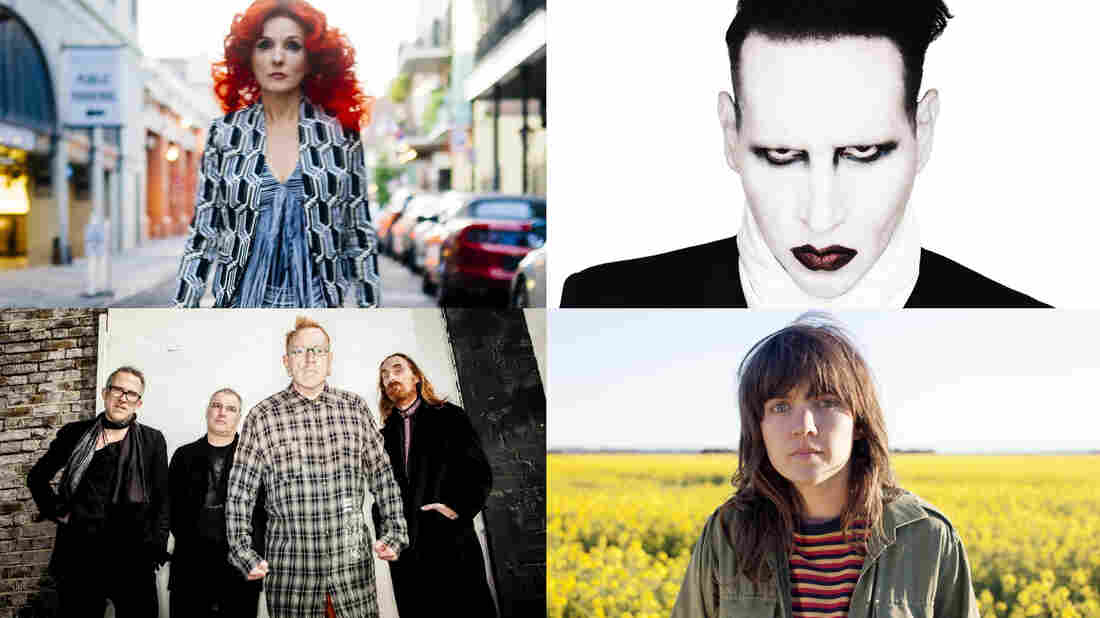 Patty Griffin, Marilyn Manson, John Lydon and Courtney Barnett are all part of World Cafe's Best Of 2015 rebroadcast this week.