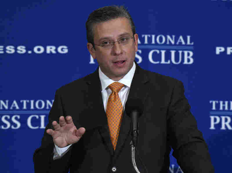 Puerto Rico's governor, Alejandro Javier Garcia Padilla, shown here in an appearance in Washington this month, has been urging Congress to allow the commonwealth to seek bankruptcy protection.