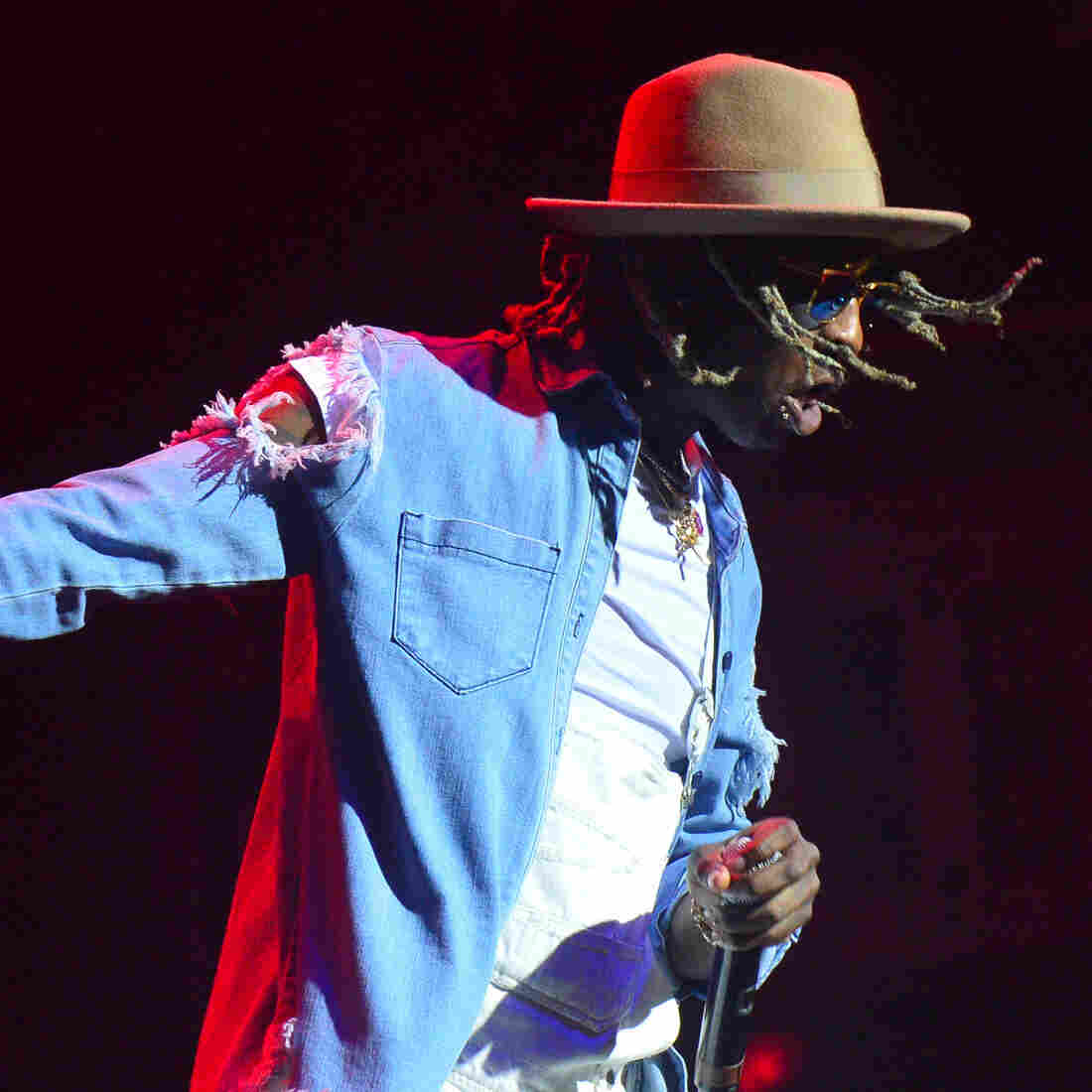 "It's a ""waste a time to have expectations"" about Young Thug (seen here performing in Atlanta in October), writes Rembert Browne."