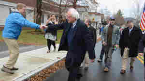 With Year-End Plea, Clinton Tries To Stop N.H. From 'Feeling The Bern'