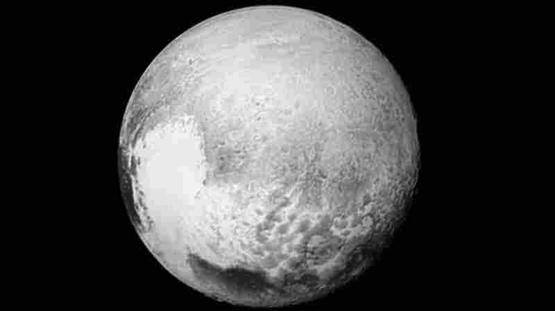 NASA's New Horizons spacecraft returned images, such as this one, to improve maps of different regions of Pluto.
