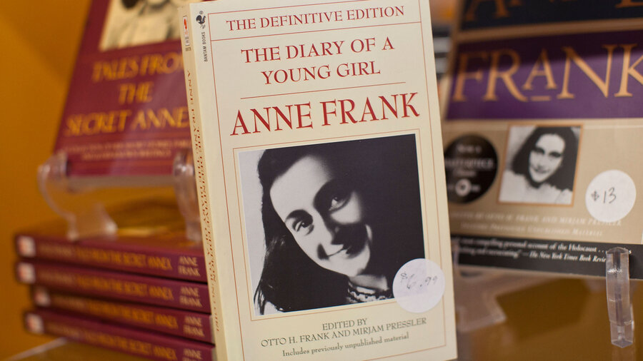mein kampf enters public arguably anne frank s diary  a copy of the diary of a young girl displayed at the anne frank center