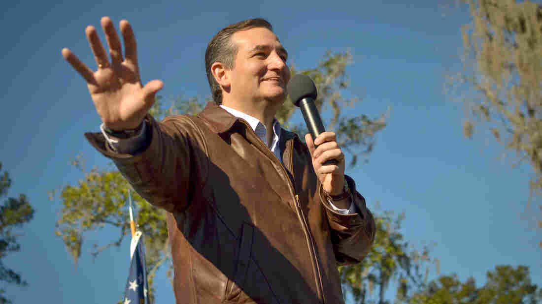 Texas Sen. Ted Cruz boasted of a big fundraising haul in the last three months of 2015: nearly $20 million.