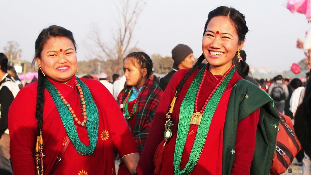 Nepali aunties beautiful women