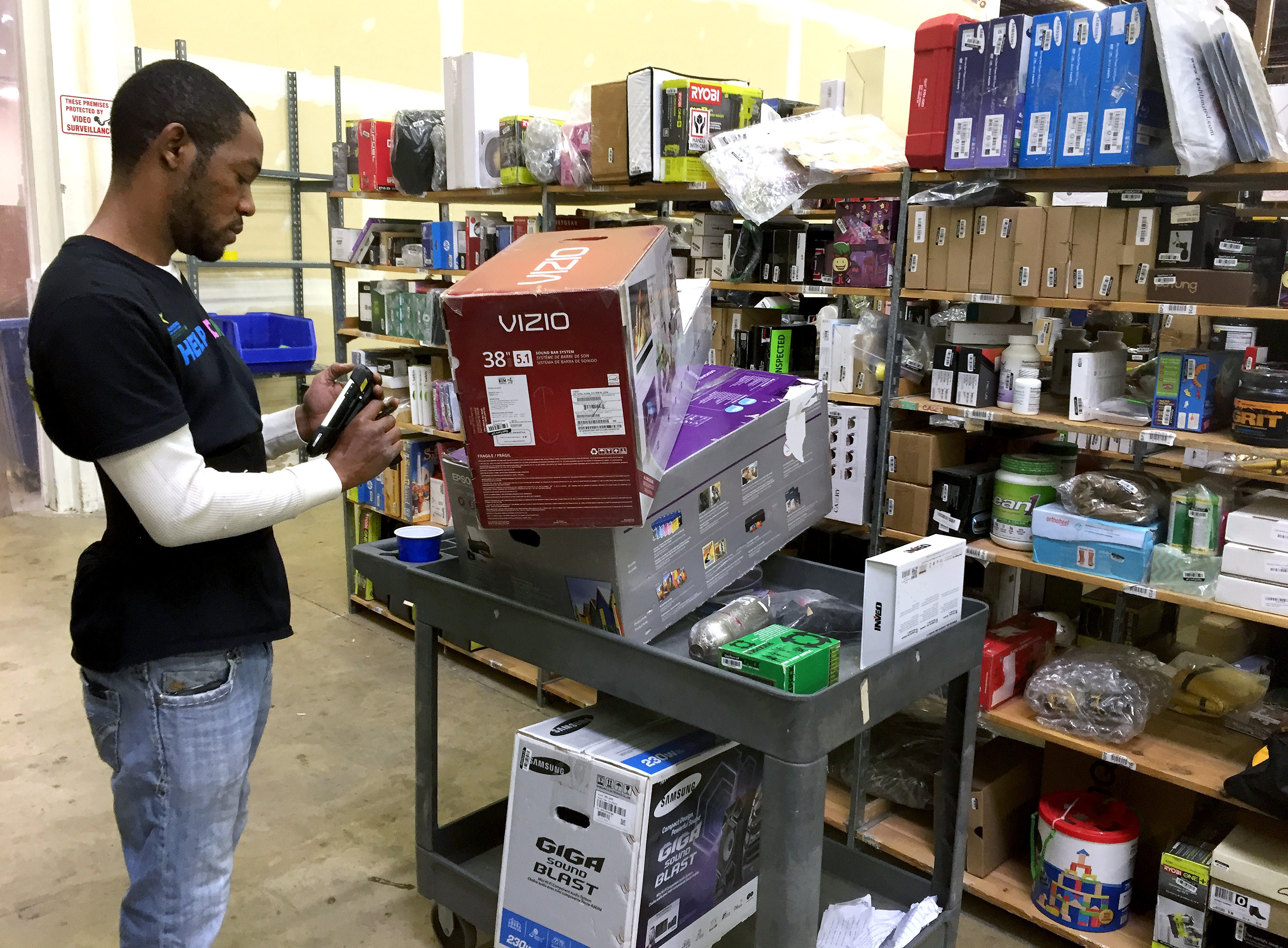 Maryland Startup Redirects River Of Rejected Gifts