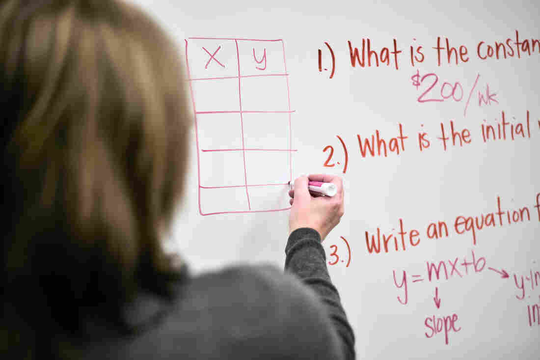 Report Supply Of Special Ed Teachers On >> It S Not Easy Teaching Special Ed Npr Ed Npr