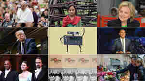 NPR's audience were drawn to a wide range of topics in 2015, from music and politics to the lives of girls and the work of robots.