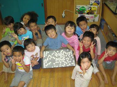 At the Hato Poppo Nursery School in Tokyo's Setagaya ward, the waiting list is as long as 1,200.