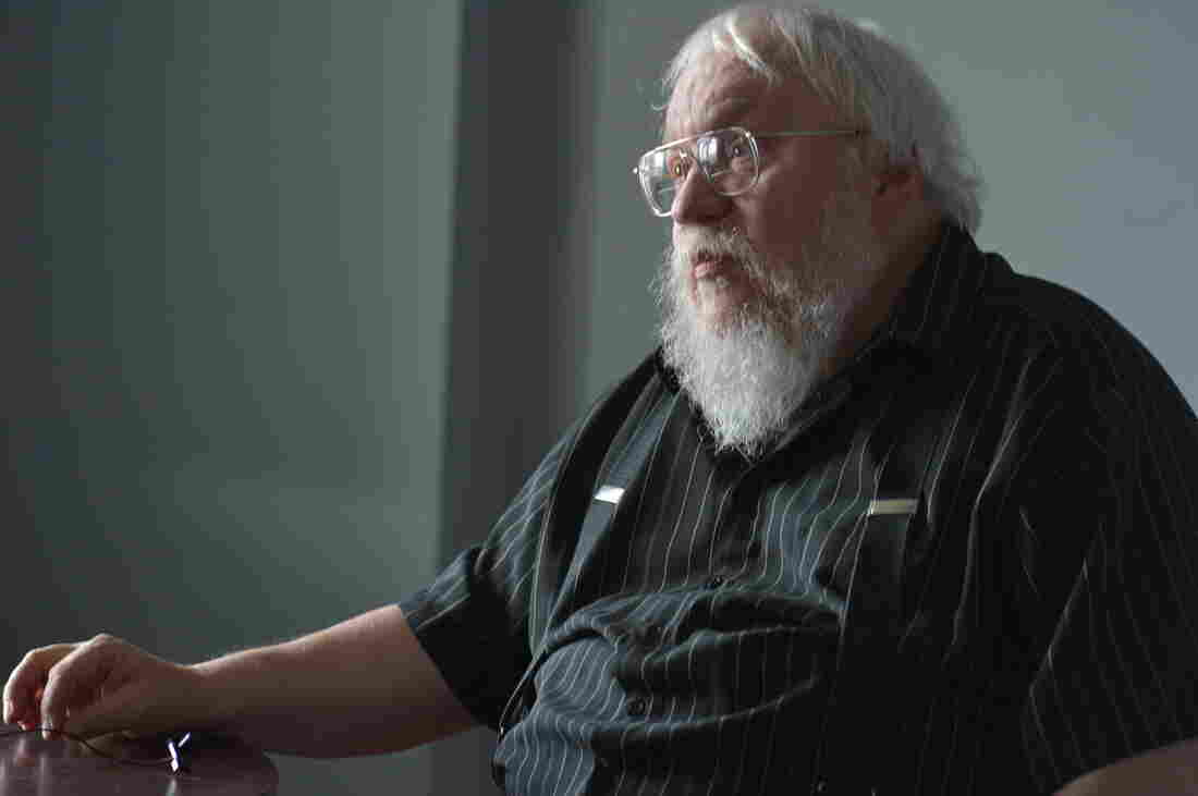 George R.R. Martin answers questions before a game between the Hudson Valley Renegades and the Staten Island Yankees — briefly renamed the Staten Island Direwolves for their Game of Throne night in August. Now, four months later, Martin has some bad news for his fans.