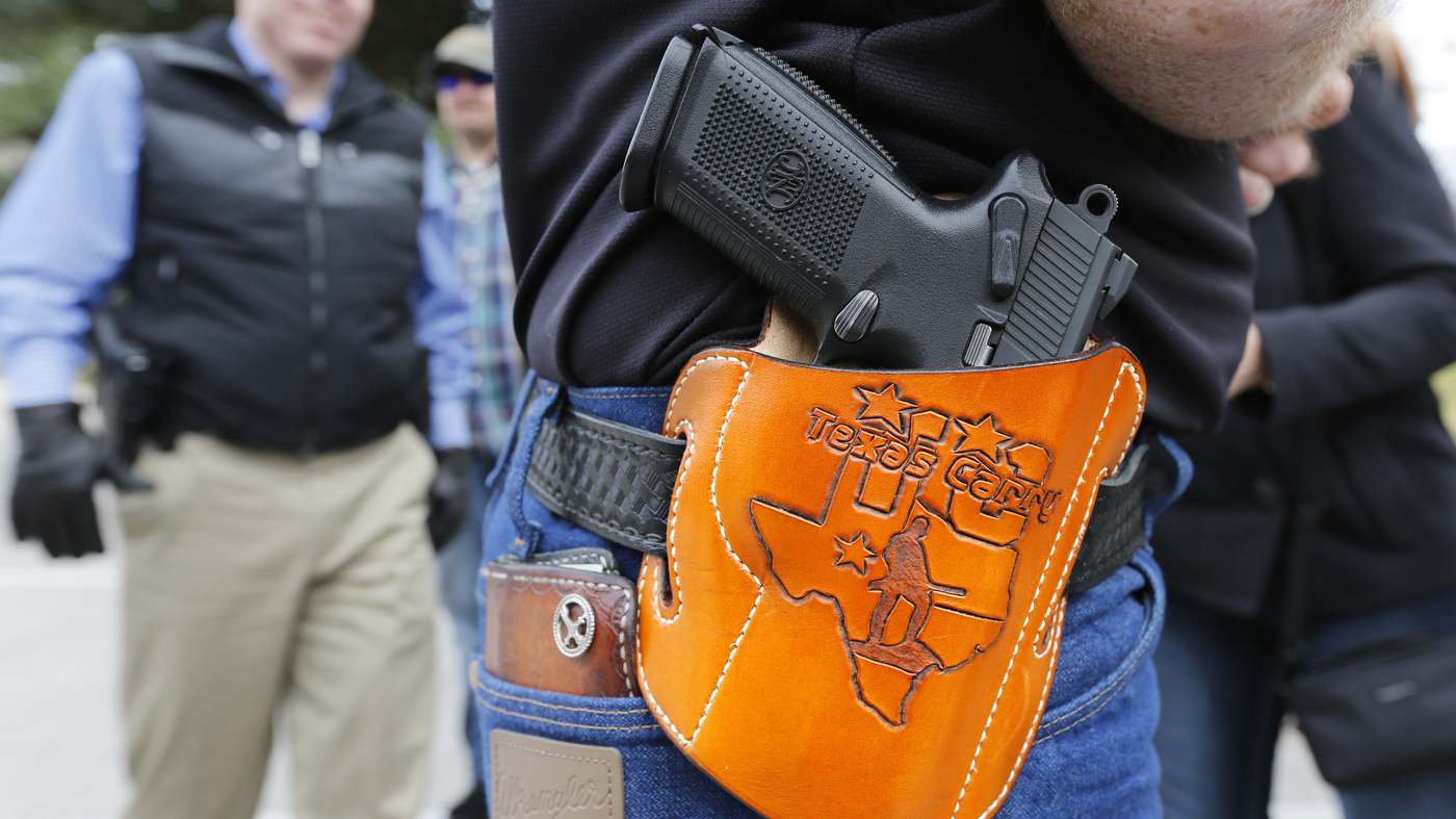 Texas Businesses Adapt To Open Carry Law : NPR