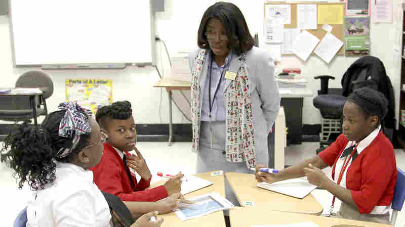Tiffany Anderson is credited with turning around the school system in Jennings, Mo.