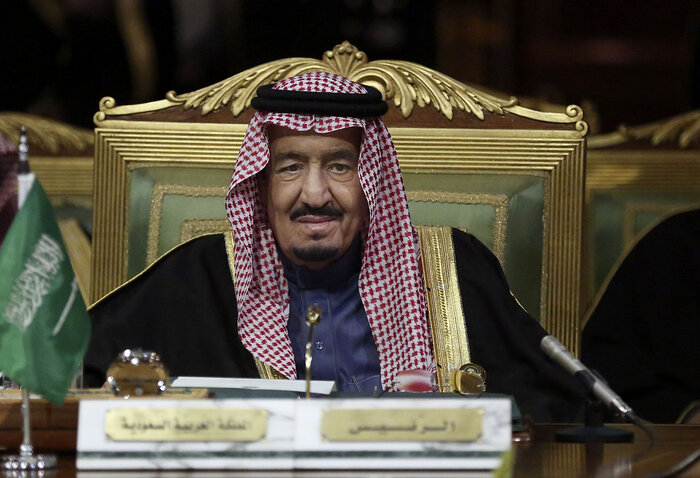 Saudi Arabia's King Salman, shown on Dec. 9 in the capital Riyadh. Saudi Arabia has cut ties with its long-time rival Iran, a development that could complicate many of the existing problems in the Middle East. (Khalid Mohammed/AP)