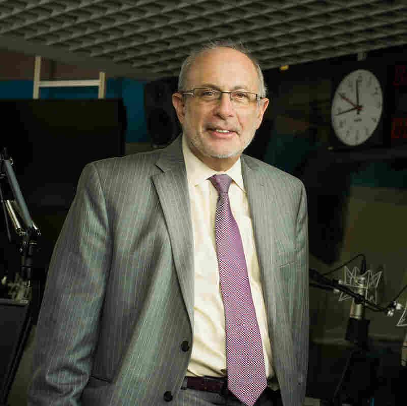 NPR All Things Considered host Robert Siegel.